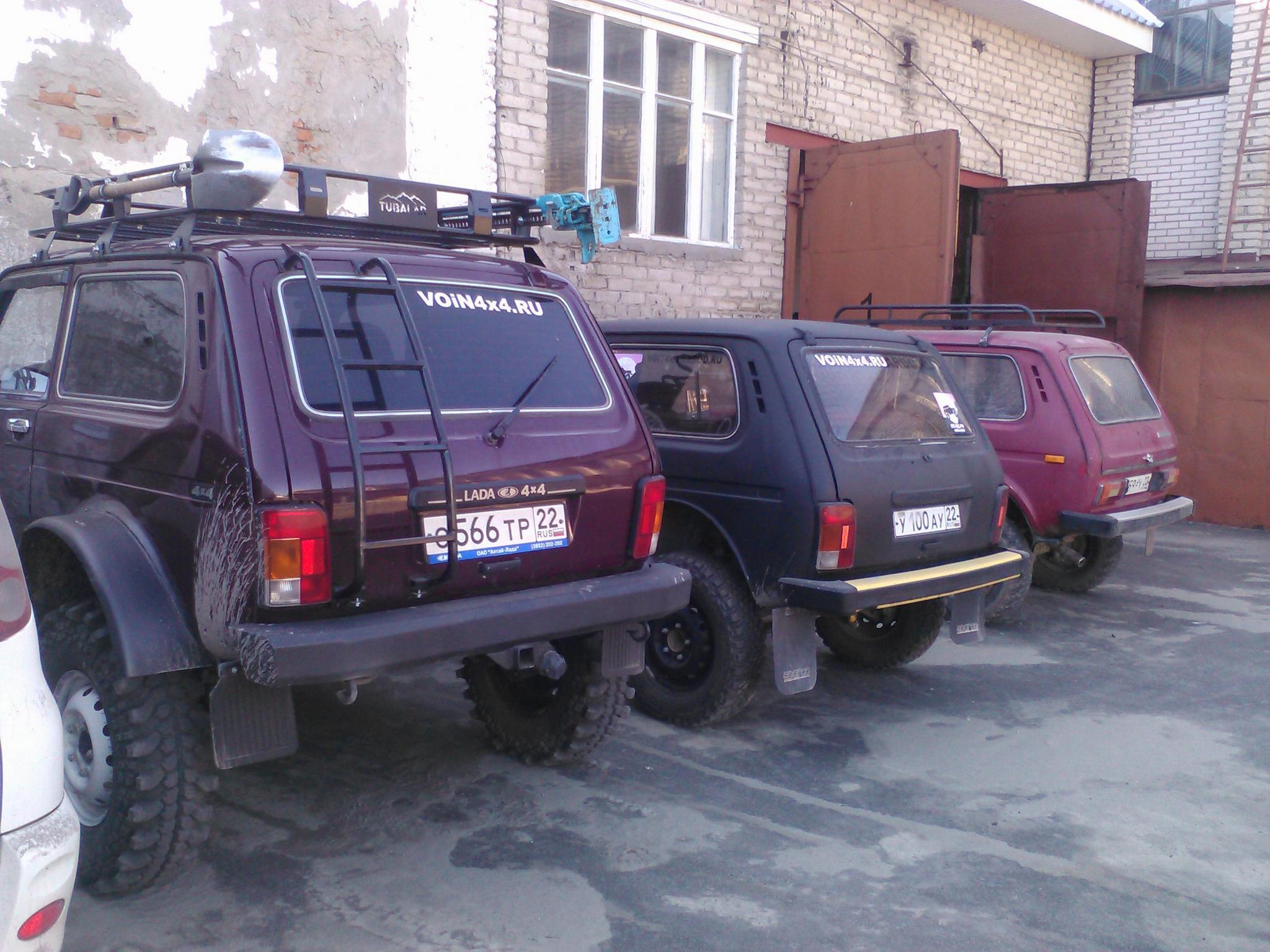 Колёсные редуктора (порталы, бортовые ) для Ваз2121 Нива и их семейства 53